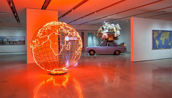 پرویز تناولی و نمایشگاه هنر کانادا