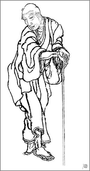 پرتره نقاشی هوکوسای