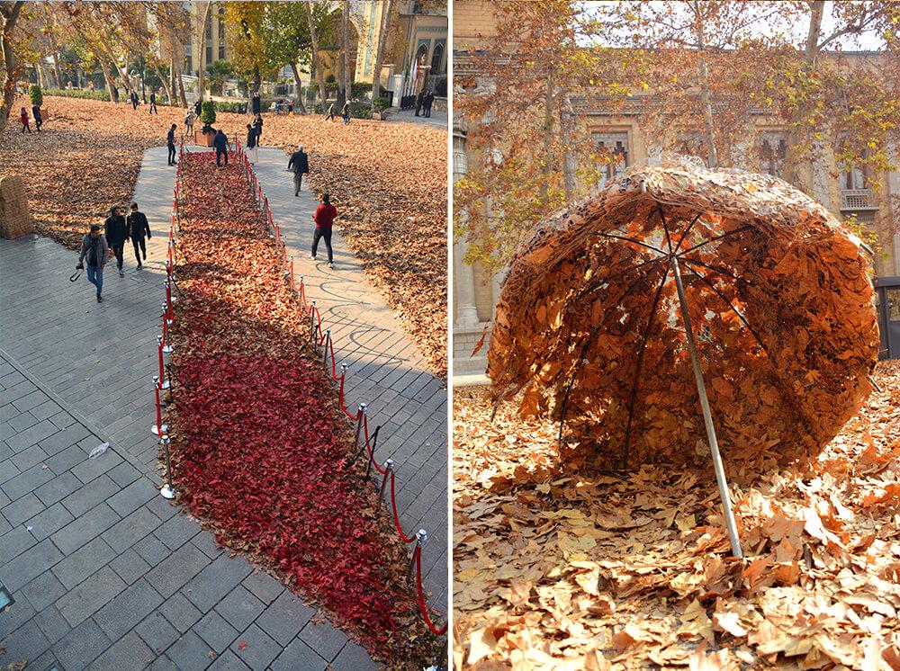 جشنواره پاییز برگ