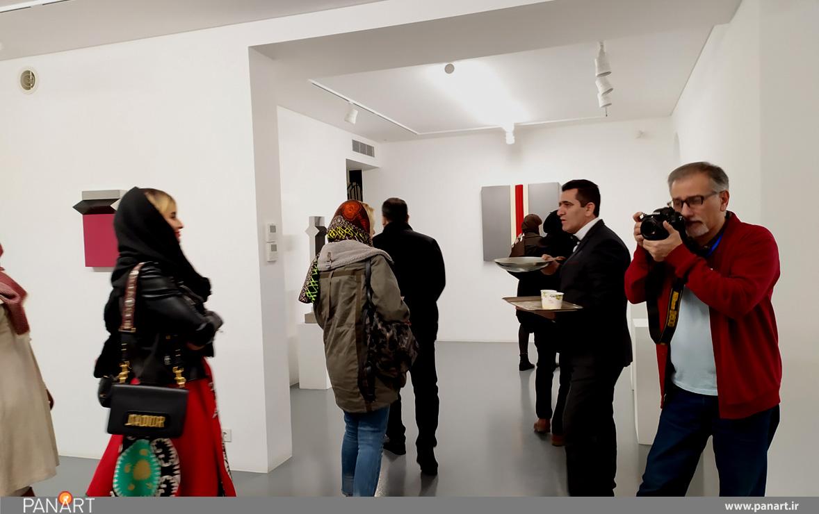 نمایشگاه مجسمه با عنوان سریال در گالری اعتماد