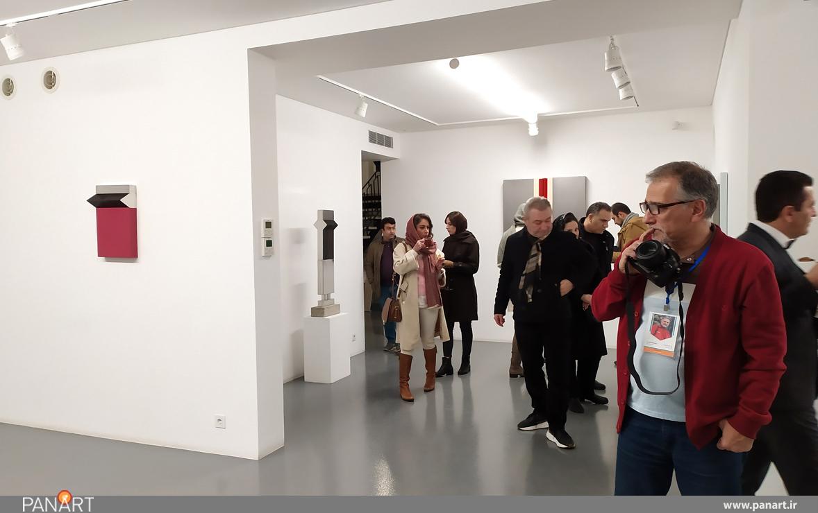 نمایشگاه سریال آثار امیر موسوی زاده