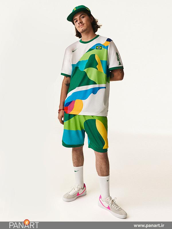 طرح جدید لباس ورزشی نایکی برای بازی های المپیک 2020 میلادی