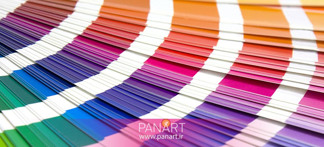 ساختار کلی رنگ در هویت بصری